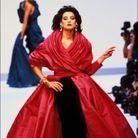 Ines de la Fressange au défilé Chanel automne hiver 1988-1989