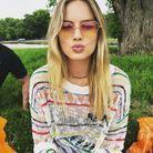 Le pull coloré de Margot Robbie