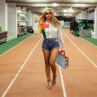 Le short en jean de Beyonce
