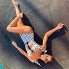 Bikini vintage à pois