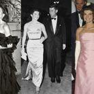 Les robes de bal bustier de Jackie Kennedy