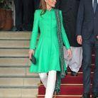 Kate Middleton et sa tunique verte