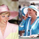 Les chapeaux élégants de Lady Di