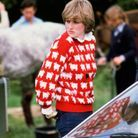 La princesse Diana et son pull à moutons