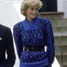 La princesse Diana et son pull bleu