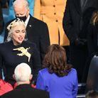 Lady Gaga et Kamala Harris