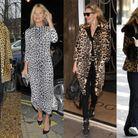 L'imprimé léopard porté par Kate Moss