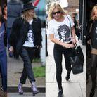 Les t-shirts rock de Kate Moss