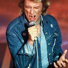 Johnny Hallyday en 1980