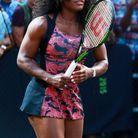 Serena Williams en robe serpent à l'US Open de 2015