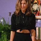 Le chemise courte noire de Rachel Green