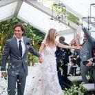 Gwyneth Paltrow dans sa robe de mariée Valentino