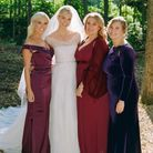 Karlie Kloss dans sa robe de mariée Dior