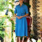 Meghan Markle et sa robe légère le 26 octobre 2018