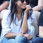 Meghan Markle porte des lunettes de soleil Finlay London