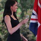Meghan Markle, verre levé à la Summer Party pour lier l'amitié britannique et irlandaise