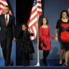 Robe noire et rouge pour la victoire de Barack Obama