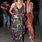 Paris Jackson, pieds nus, arrive à la soirée Harper's Bazaar à l'hôtel The Plaza à New York, le 8 septembre 2017