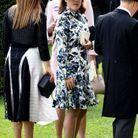 Eugenie d'York en robe imprimée