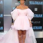 Rihanna en robe Giambattista Valli en juillet 2017