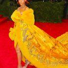 Rihanna en robe Guo Pei au gala du Metropolitan Museum of Art en mai 2015