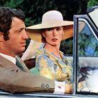 Capeline en paille naturelle portée dans La Sirène du Mississipi de François Truffaut sorti en 1969