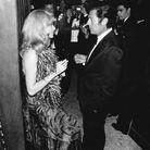 Robe en mousseline portée en 1974 au gala des l'union des artistes