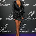Tina Kunakey et sa petite robe noire