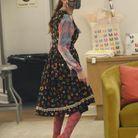 Sarah Jessica Parker porte des escarpins corail