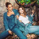Gigi et Bella Hadid en total look jean
