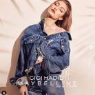 Gigi Hadid en total look jean pour une campagne de pub
