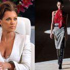 Wilhelmina Slater en Saint Laurent