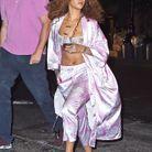 La lingerie en total look nuit pour Rihanna