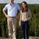 William et Kate Middleton qui a enfilé ses chaussures bateau en juillet 2011, au Canada.
