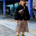 Que porter avec une jupe léopard ?