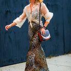 Que porter avec une robe léopard ?