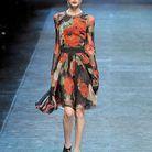 Mode tendance conseils look imprimes fleurs Dolce e Gabbana