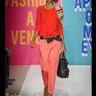 Mode conseils shopping look tendance orange DKNY