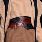 La ceinture en cuir Balmain