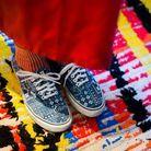 Ses chaussettes Pas Chassé et ses Vans achetées sur Sarenza.com