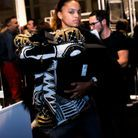 Certaines n'ont pas vraiment su résister devant les jolies pièces de la collab' Balmain X H&M