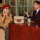 Diiane Keaton avec le Gucci Horsebit 1955