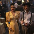 Andra Day, interprète de Billie Holiday, habillée par Prada dans « The United States vs Billie Holiday »
