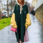 Blanca Miró en robe polo oversize