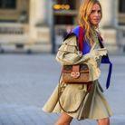 Blanca Miró et sa robe à volants et détails plissés