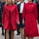 Brigitte Macron et la Princesse Mary