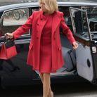 Brigitte Macron arrive au Palais d'Amalienborg