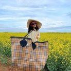 Le sac Burberry de Alicia Roddy