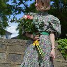 Blouse + jupe longue imprimé fleuri H&M