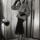 Le léopard au coeur de la collection Dior printemps-été 1949